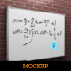 Whiteboard Mock-Up - GraphicRiver Item for Sale