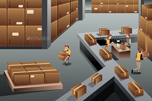 Distribution Warehouse - Business Conceptual