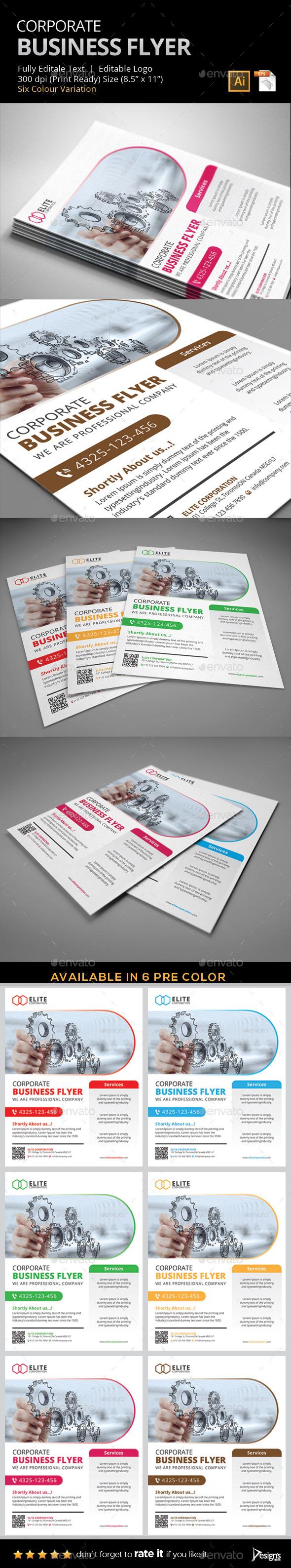 Flyer - Multipurpose Business Flyer 5 - Flyers Print Templates
