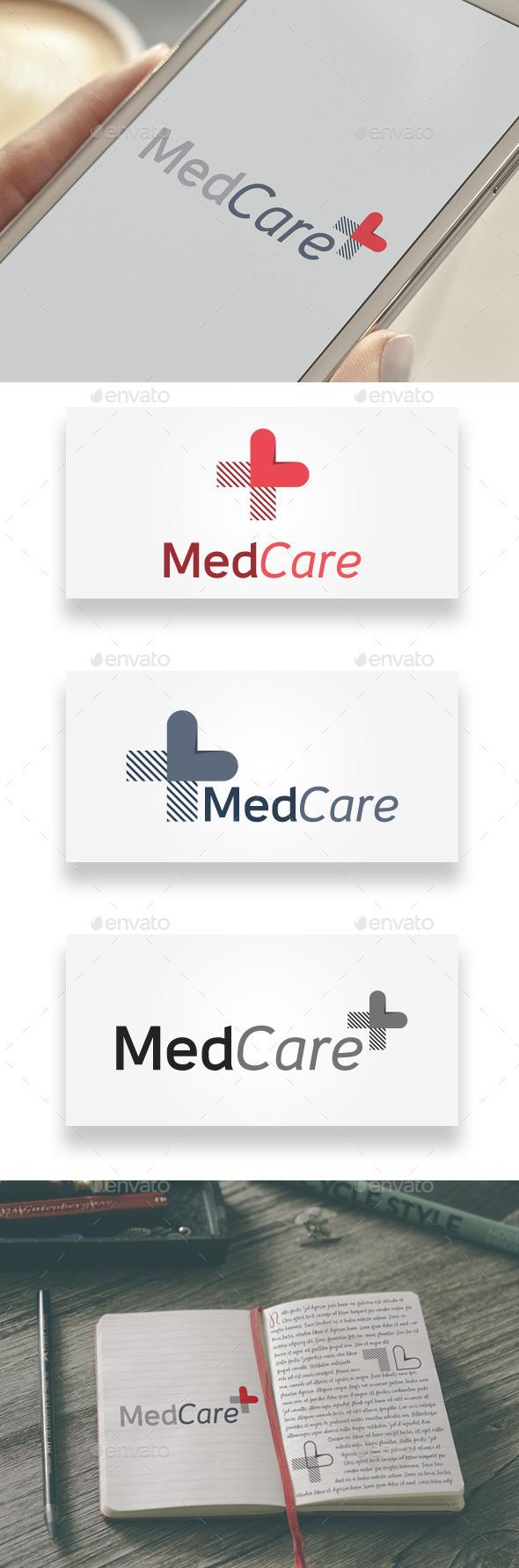 MedCare Logo - Abstract Logo Templates