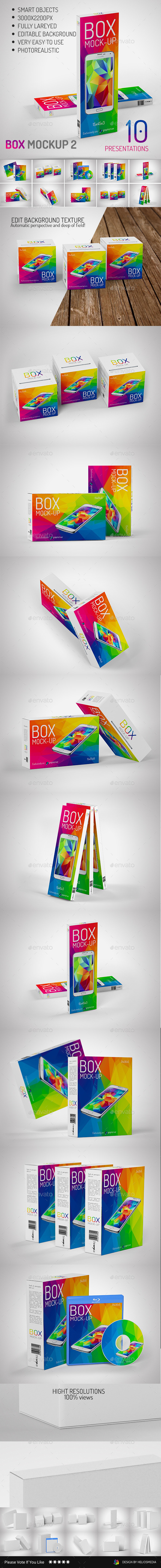 Box Mock-Up 2 - Miscellaneous Packaging