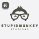 Stupid Monkey Logo - GraphicRiver Item for Sale