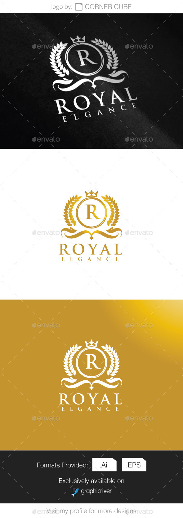 Royal Elegance Logo - Logo Templates