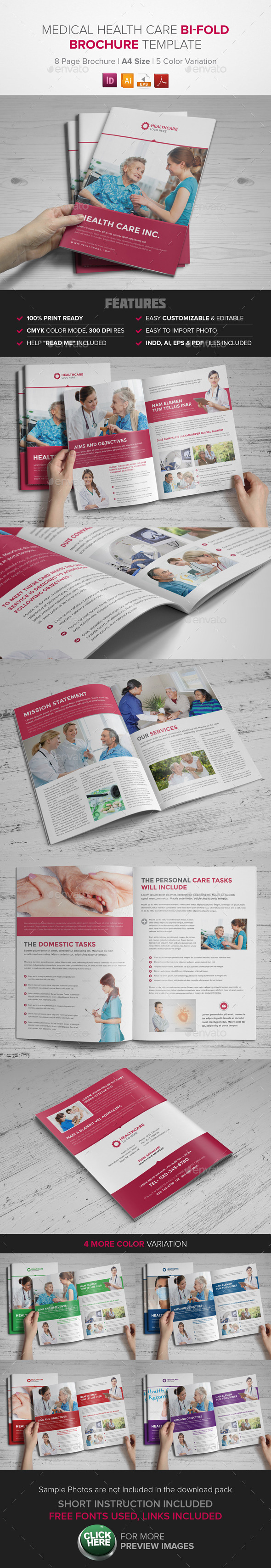 Medical Health Care Brochure - Corporate Brochures