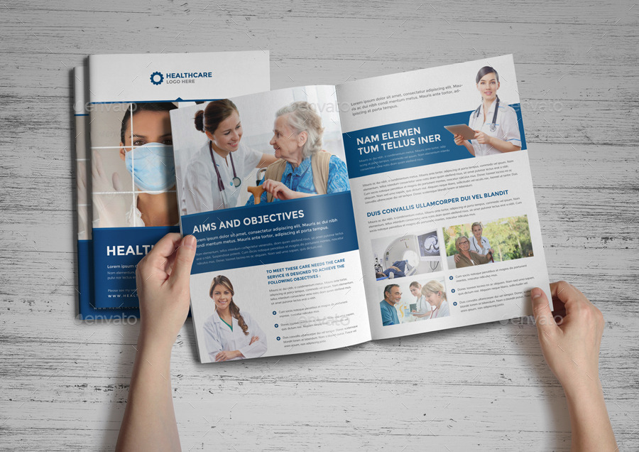 Healthcare Brochure Medical Brochure Design Healthronics Medical