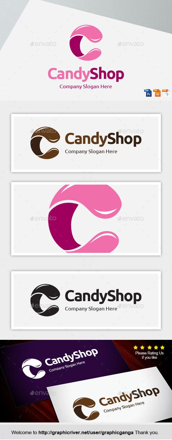 Candy Shop - Letters Logo Templates