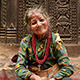 Old Woman On Steps Of Temple - VideoHive Item for Sale