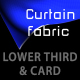 CURTAIN FABRIC lower third & BACKGROUND - PACK - VideoHive Item for Sale