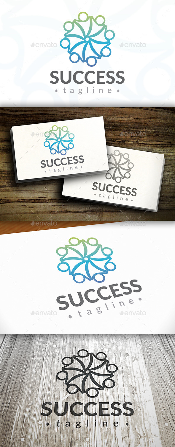 Success Logo Template - Symbols Logo Templates