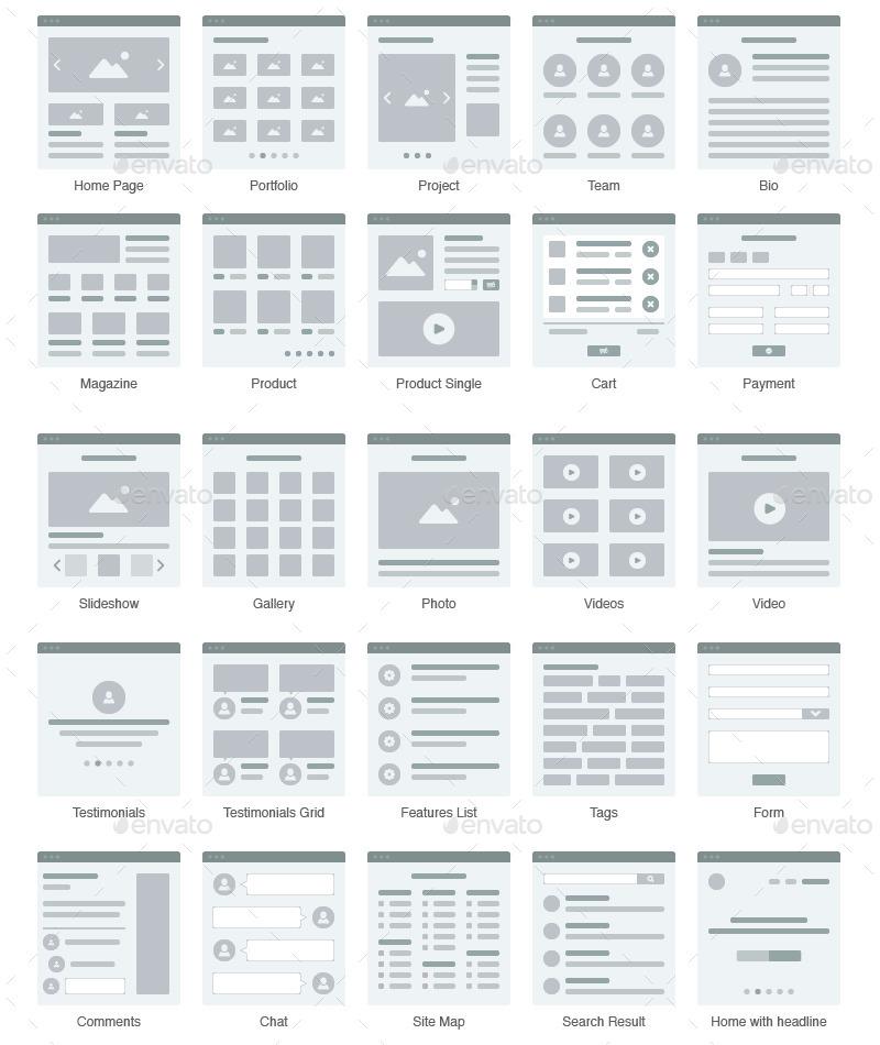 Minimal Web Flowchart By Ddanh85 Graphicriver