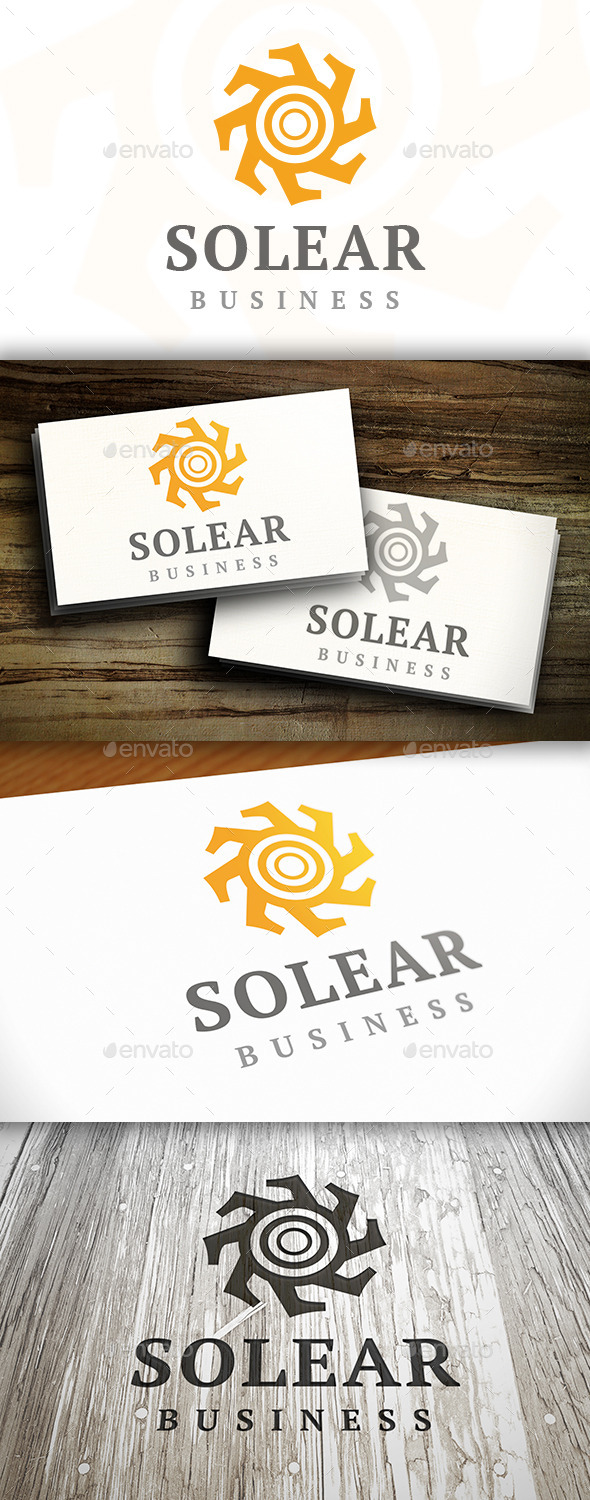 Sun Abstract Logo - Nature Logo Templates