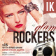 Glam Rockers Flyer - GraphicRiver Item for Sale
