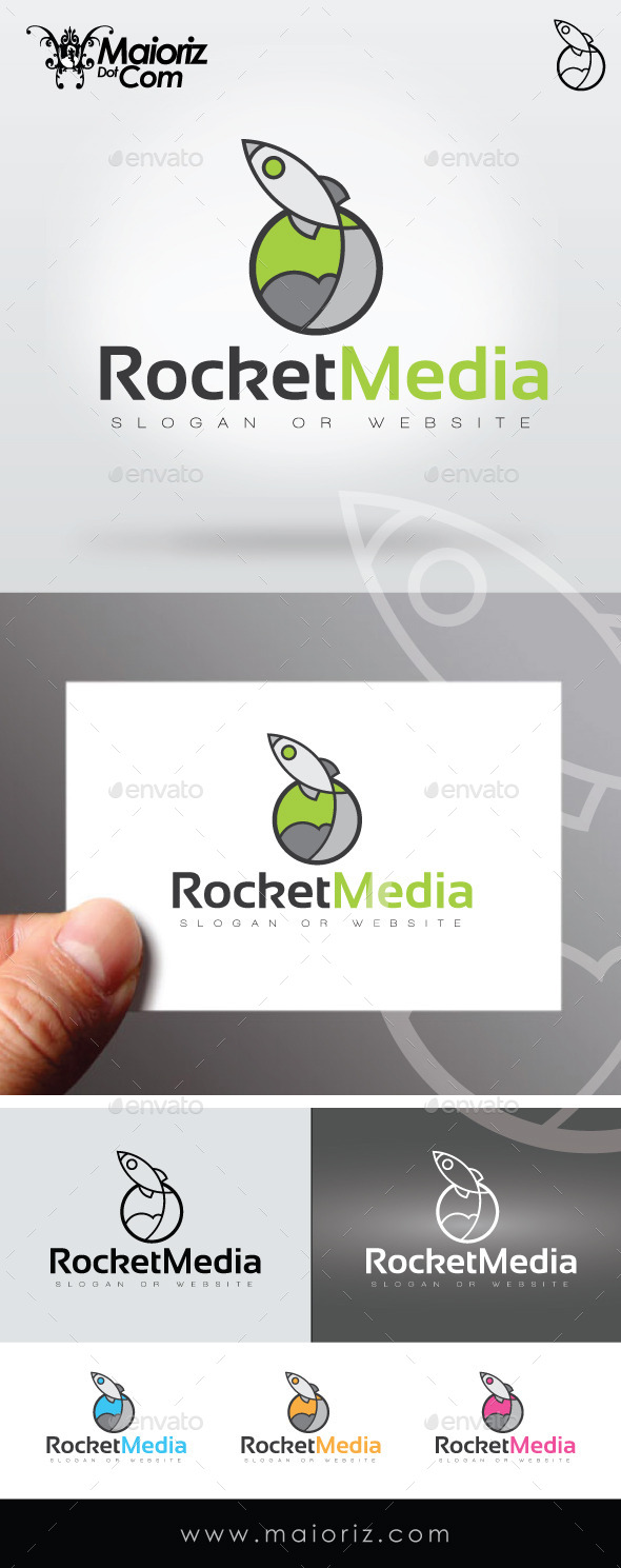 Rocket Media Logo Template - Objects Logo Templates