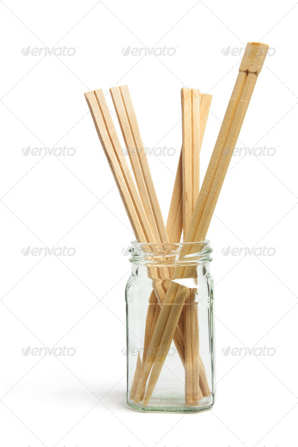 Disposable Chopsticks in Bottle - Stock Photo - Images