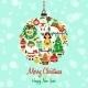 Christmas Icons Ball Shape