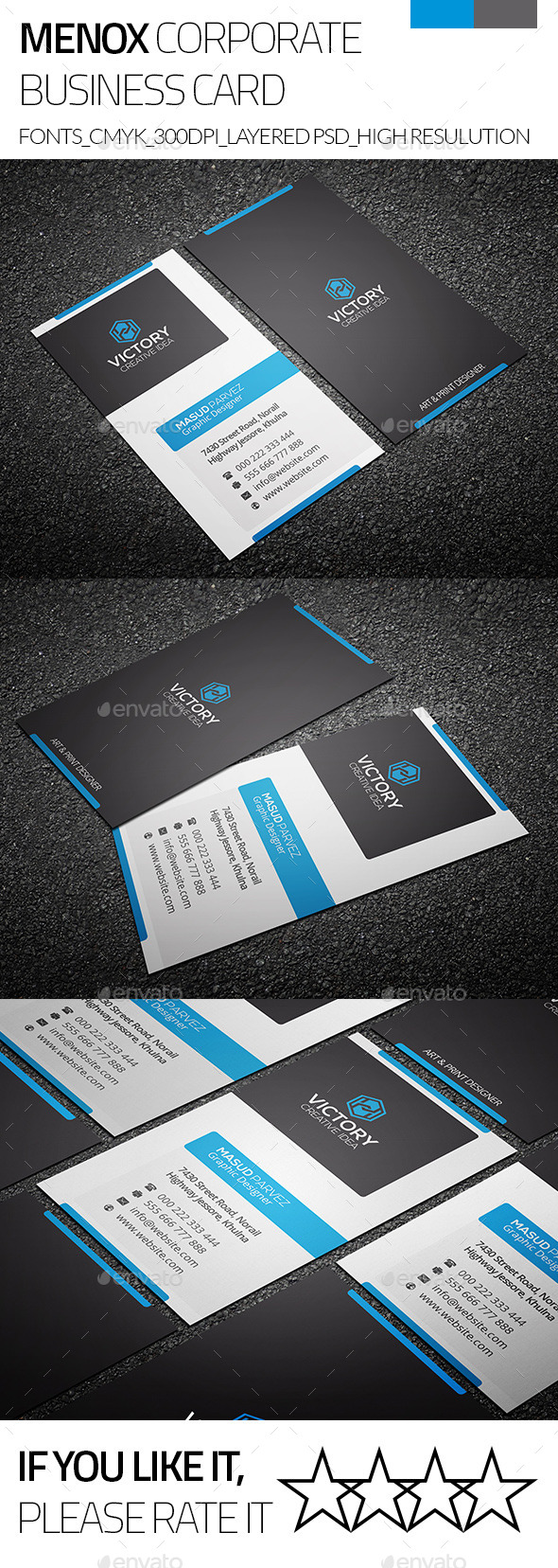 Minox & Corporate Business Card - Corporate Business Cards
