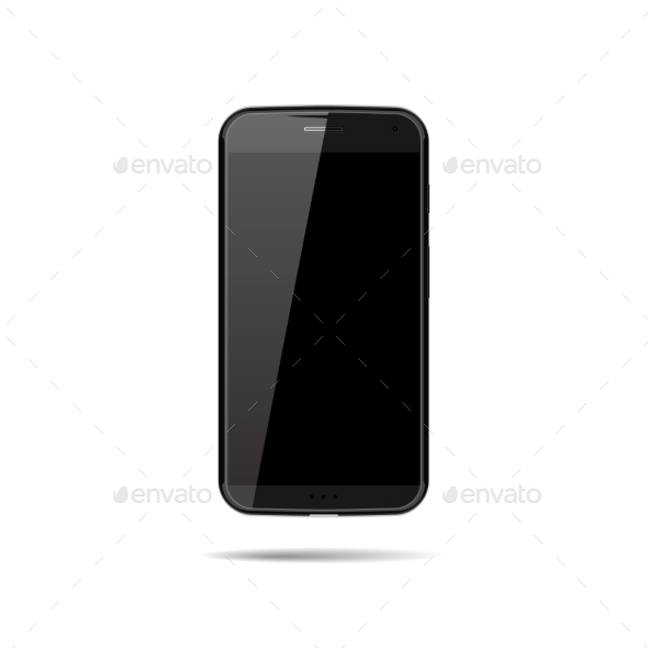 Vector Smartphone Mockup - Communications Technology