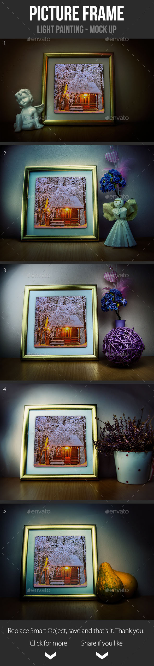 Picture Frame Mock Up - Miscellaneous Print