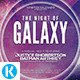 The Night of Galaxy Flyer - GraphicRiver Item for Sale