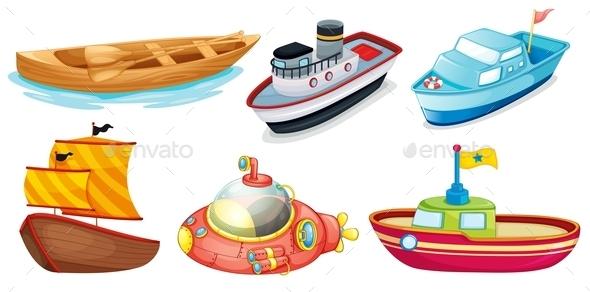 Different Boat Designs - Miscellaneous Conceptual