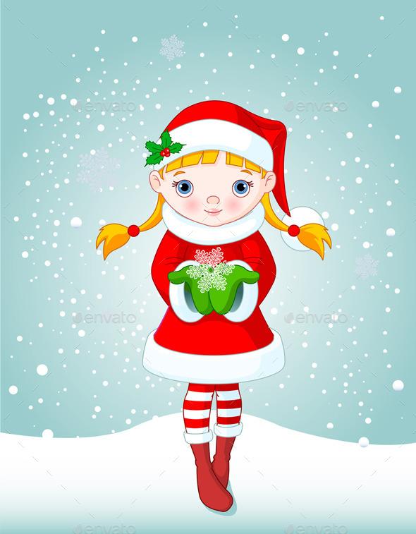Snow Maiden - Christmas Seasons/Holidays