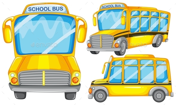 School Bus - Miscellaneous Conceptual