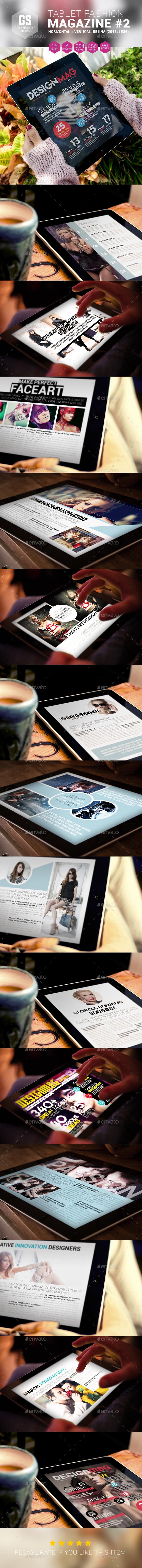 Tablet Fashion Magazine - Digital Magazines ePublishing