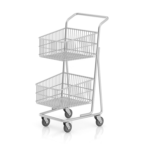 Double Shopping Cart - 3DOcean Item for Sale
