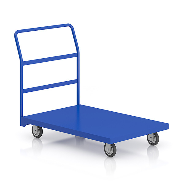 Market Service Cart - 3DOcean Item for Sale
