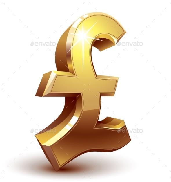 Pound Symbol - Business Conceptual
