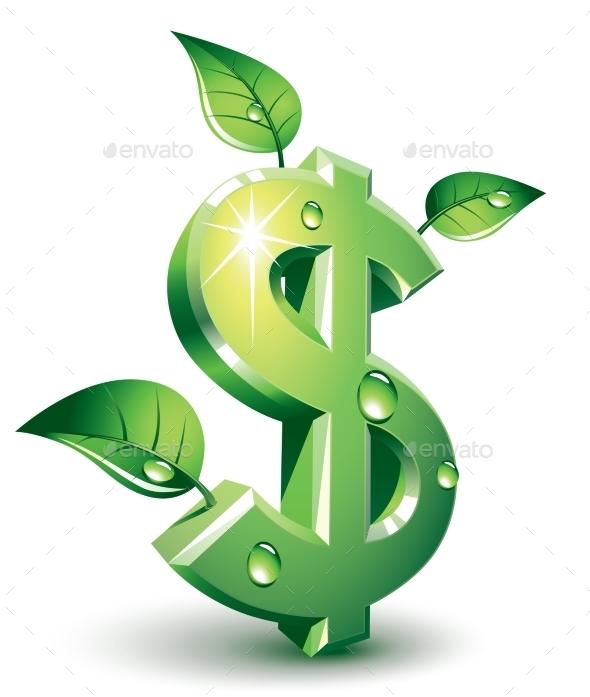 Flourishing Dollar - Business Conceptual