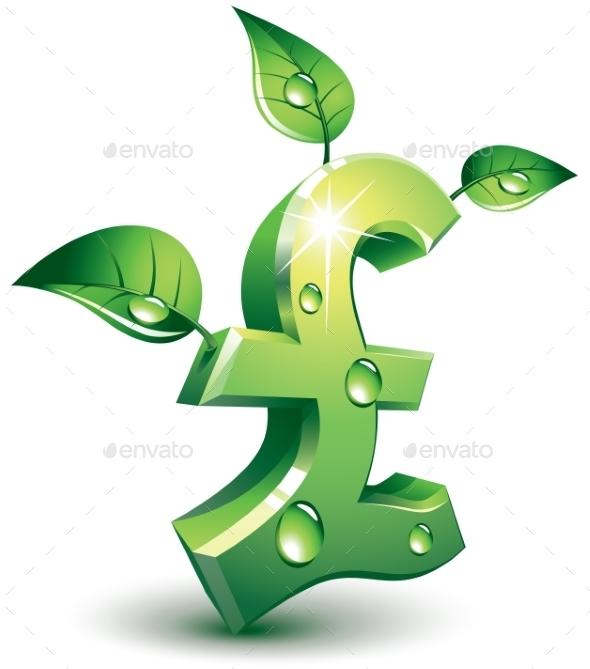 Flourishing Pound - Business Conceptual