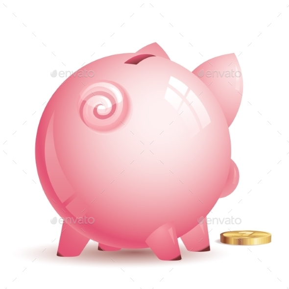 Piggy Bank - Business Conceptual