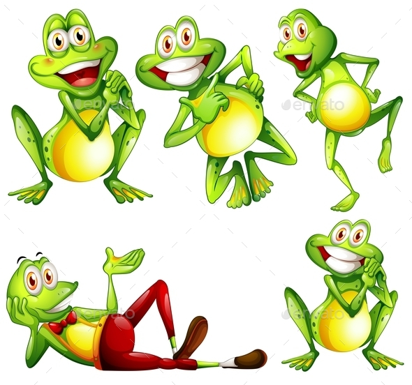Frogs - Animals Characters