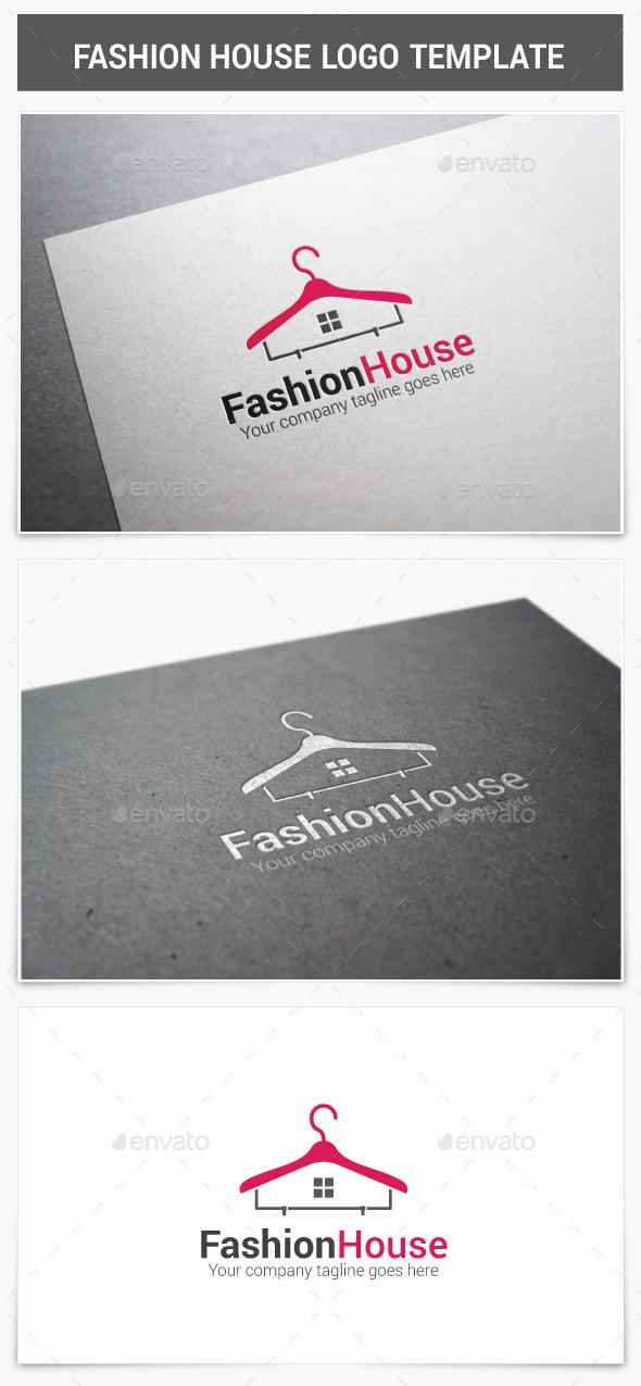 Fashion House Logo - Vector Abstract
