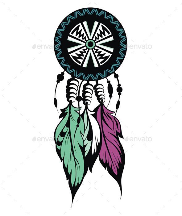 Dream Catcher - Decorative Symbols Decorative