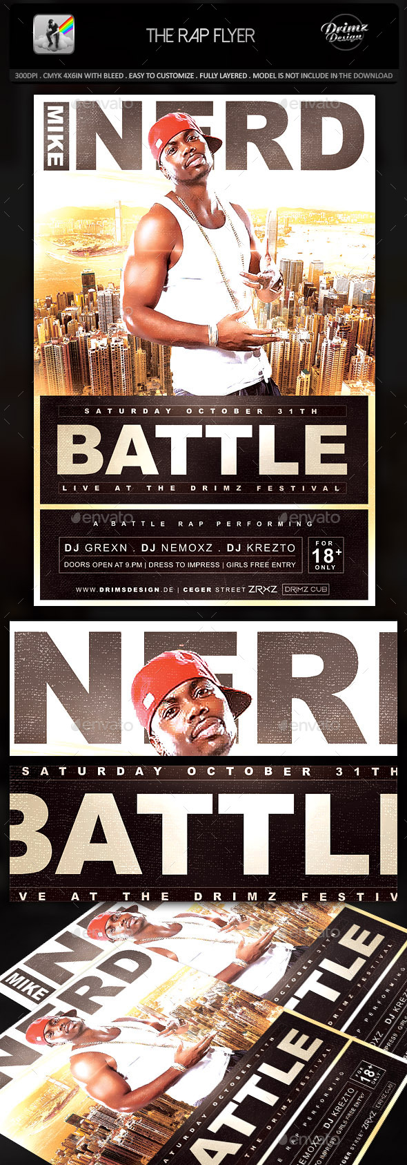 The Rap Flyer - Events Flyers