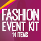 Fashion Event Kit - GraphicRiver Item for Sale