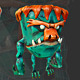 Low poly Monster - 3DOcean Item for Sale
