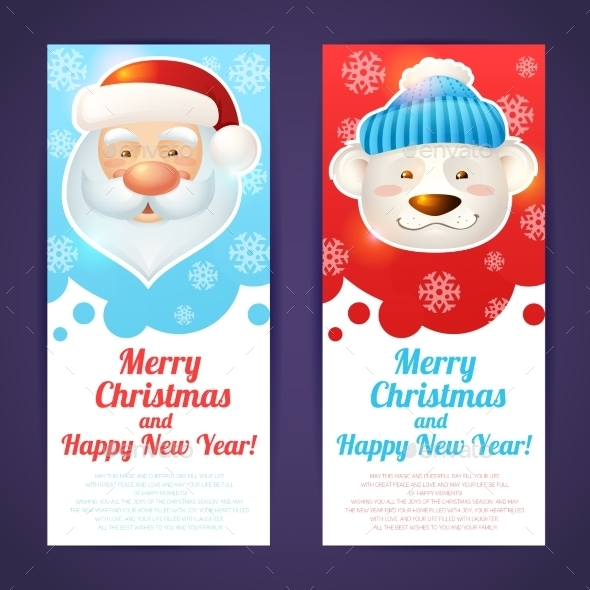Vertical Christmas Banner  - Christmas Seasons/Holidays