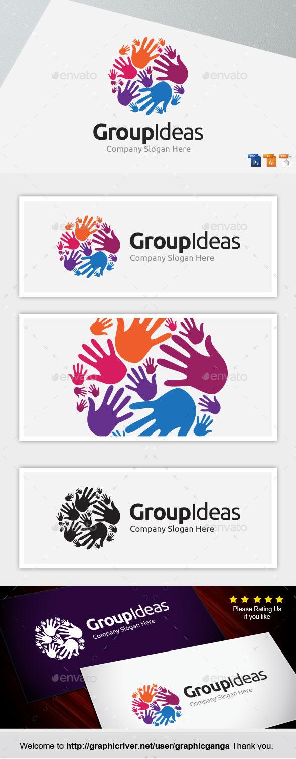 GroupIdea - Abstract Logo Templates