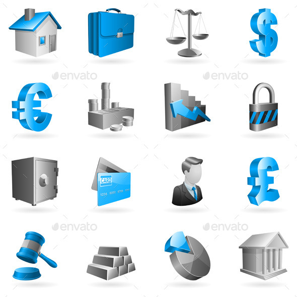 Business and Finance Icons - Business Conceptual