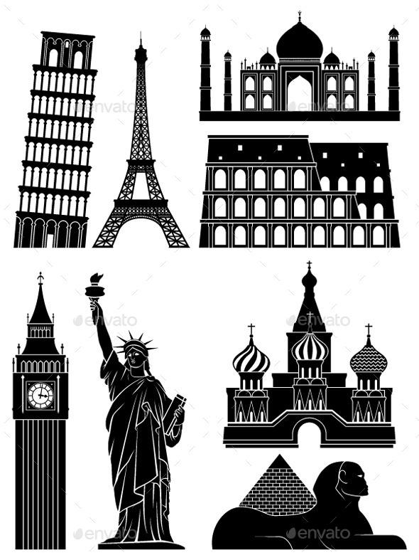 Landmarks - Buildings Objects