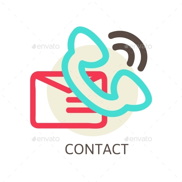 Contact Us Concept - Web Technology