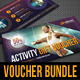 3 in 1 Sport Activity Gift Voucher Bundle 01 - GraphicRiver Item for Sale