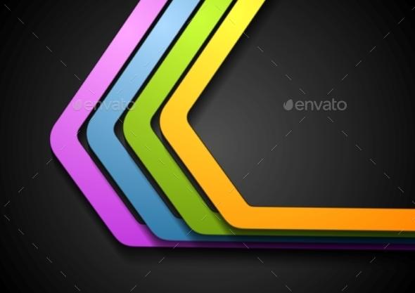 Stripes Background Design - Backgrounds Decorative