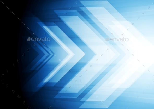 Arrow Background - Backgrounds Decorative