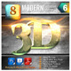 8 Modern 3D Exclusive Edition Vol.6 - GraphicRiver Item for Sale