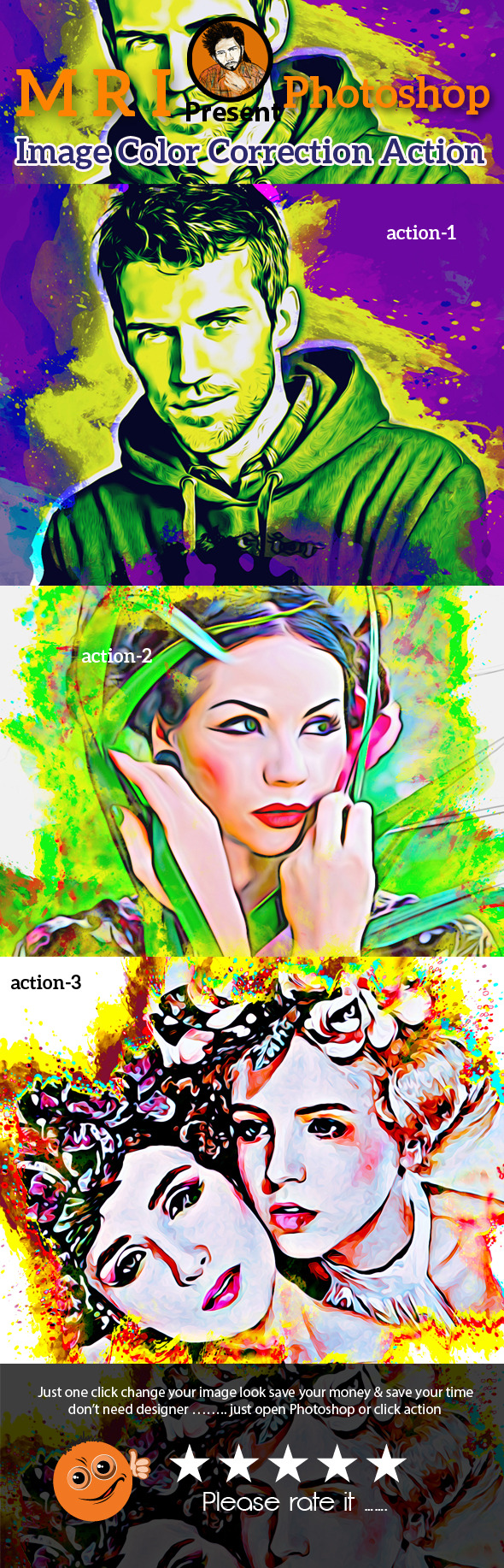 Art Style Action - Photo Effects Actions