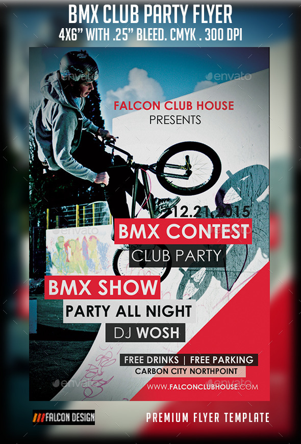 BMX Club Party - Clubs & Parties Events